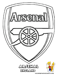 Small Picture 27 arsenal football soccer futbol at coloring pages book for kids