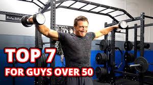 7 dumbbell exercises for guys over 50