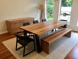 recycled timber dining table melbourne