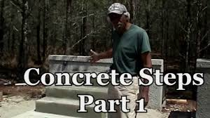 Cinder Block Stairs How To Build Concrete Block Steps Video Tutorial Youtube