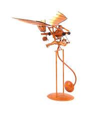 sentinel leonardo da vinci flight pioneer pendulum weighted flying machine