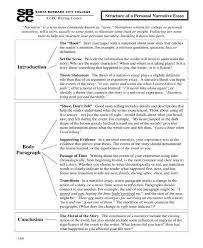 8 narrative essay templates pdf