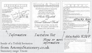 Trifold Wedding Invitations A S Invites