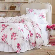 shabby chic comforter sets queen bedding good looking beach blue with pink fl inspirations 4
