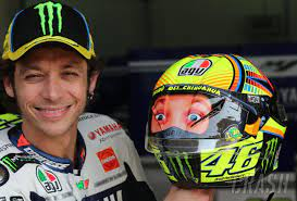 Valentino rossi replica helmets have been available from agv for many years and are constantly evolving with new designs. Our Top 10 Valentino Rossi Helmets Motogp News Crash