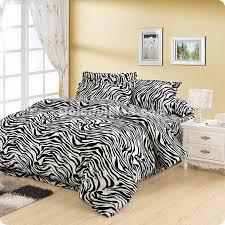 warm zebra print bedding sets