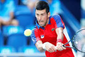 Novak Djokovic can redirect that ball ...
