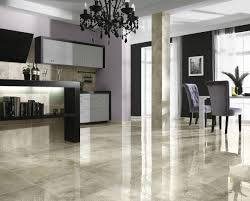 Kitchen Floor Marble Small Kitchen With White Marble Tile Flooring Marble Slabs On The