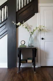 Painted Wood Stairs Best 25 Black Banister Ideas On Pinterest Banisters Bannister