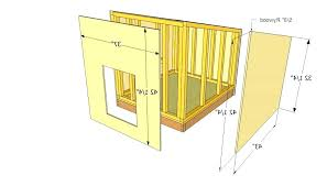 dog house plans homey idea for shepherds 6 easy how to build pdf full size