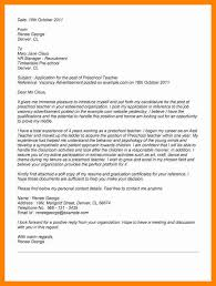 6 Cover Letter For Preschool Teacher Letter Signature