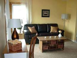 paint color to match brown leather couch dark wall sofa what walls best concept colors home