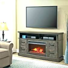 black fireplace entertainment center electric