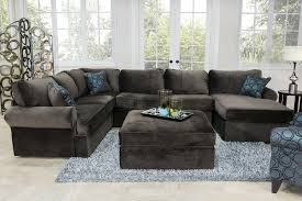Living Room Furniture For Less Napa Chocolate Sectional Living Room Living Room Mor Furniture