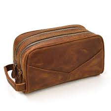 The Nomad <b>Toiletry</b> Bag   Genuine Leather <b>Travel Toiletry</b> Bag