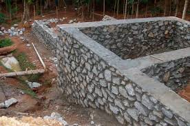 how to build a rock wall and transform