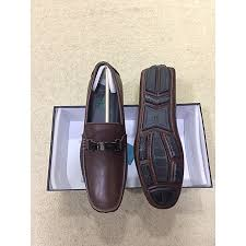men s brown leather loafers