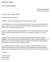 How To Write A Reference Letter For Student Scholarship