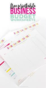 Free Expense Sheets Free Printable Business Budget Worksheets Printable Crush