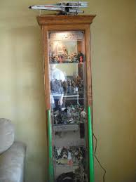 Star Wars Cabinet Nurse Graham How To Decorate A Curio Cabinet