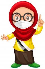 Saat sedang flu, bagian masker yang berwarna putih bisa digunakan di. Muslim Images Free Vectors Stock Photos Psd