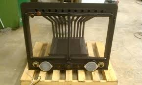 diy fireplace heat exchanger grate wood water