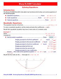pdf for sharp calculator el 546w manual