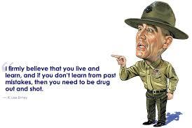 Cartoon Quotes Awesome I Am Gunnery Sargent Hartman AR48COM