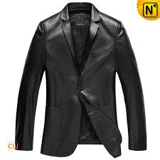 leather blazer for men cw840801 cwmalls com