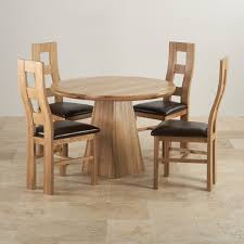 solid oak wood table and chairs provence solid oak dining set 3ft 7 table with 4