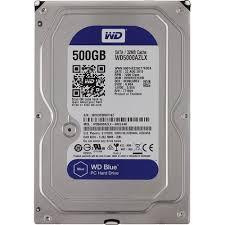 <b>Жесткий диск Western Digital</b> Blue 500 Гб WD5000AZLX SATA ...