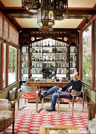 wonderful home office ideas men.  Ideas Inside Mad Men Creator Matthew Weineru0027s Home Office In Wonderful Ideas M