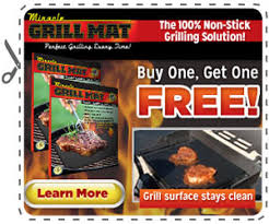 Miracle Grill Mat Gets You Perfect Grilling Results Every Time