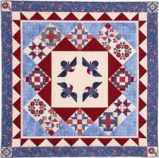 156 best Red/ White/ Blue/QUILTS USA images on Pinterest | Blue ... & Tales of First Ladies Quilt by Eleanor Burns patriotic Adamdwight.com