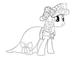 Coloring Pages Girl Games For Girls My Little Pony Printable Free Es