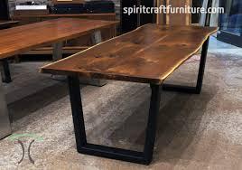 hardwood walnut dining table live edge slab dining tables walnut slabs and tops