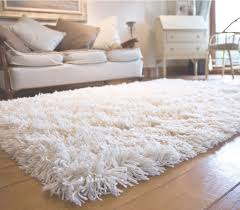 vintage living room with rectangular white fluffy rug and brown oak regarding top fluffy rugs for