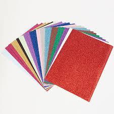 glitter paper. Fine Glitter Glitter Paper A4 Assorted 30pk Small  In 1