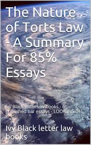 ivy essays buy the nature of % torts essays law school e book e  buy the nature of % torts essays law school e book e book recommended for you