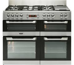 Why Dual Fuel Range Buy Leisure Cuisinemaster Cs110f722x Dual Fuel Range Cooker