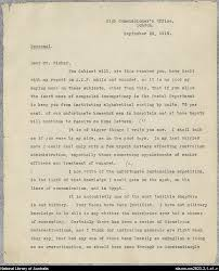 focus gallipoli national library of  gallipoli letter from keith arthur murdoch to andrew fisher