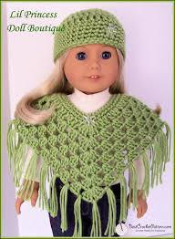 Free Crochet Doll Clothes Patterns For 18 Inch Dolls