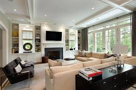 built in bookshelves around fireplace built ins around fireplace living room traditional with dark gray armchairs built in bookshelves around