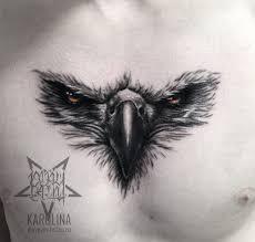 тату на груди орел в реализме сделать тату у мастера каролины