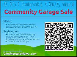 continental community garage s continental enews community garage registration flyer