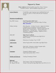 Resume Sample No Work Experience College Student Valid Resume Sample