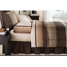 mainstays ombre coordinated bedding set