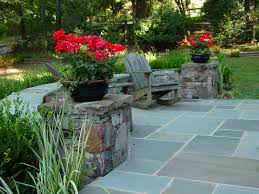 Small Picture Stone Garden Design Pictures Backyard landscaping with lawn and