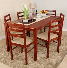 dining set wood. woodness solid wood 6 seater dining set
