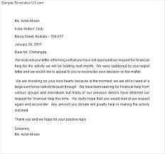 sample financial aid award appeal letter appeal letter  financial aid appeal letter example sample templates